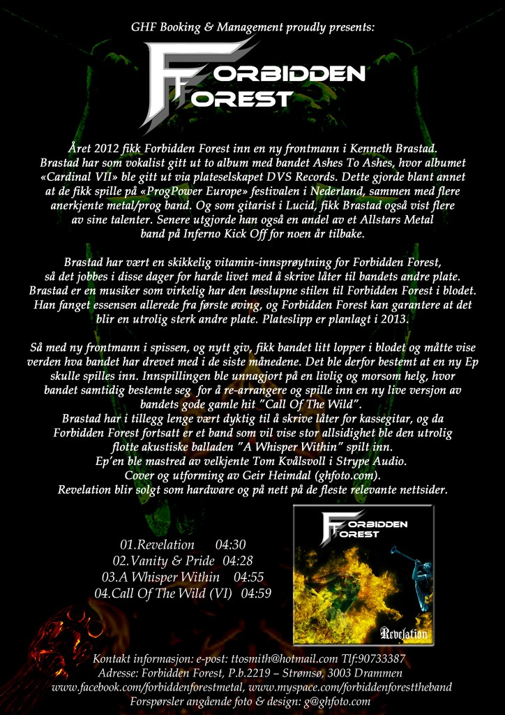 Revelation Press Release