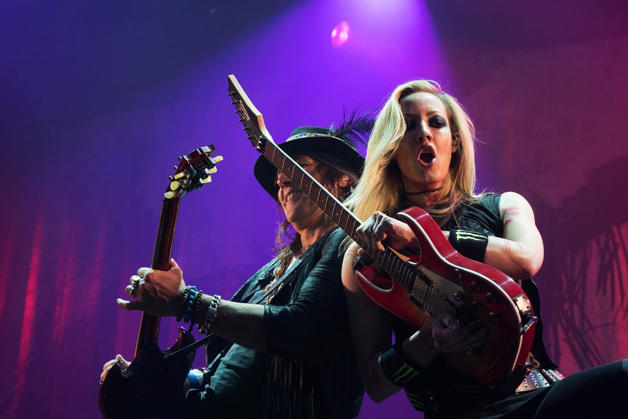 Ryan Roxie & Nita Strauss, Alice Cooper