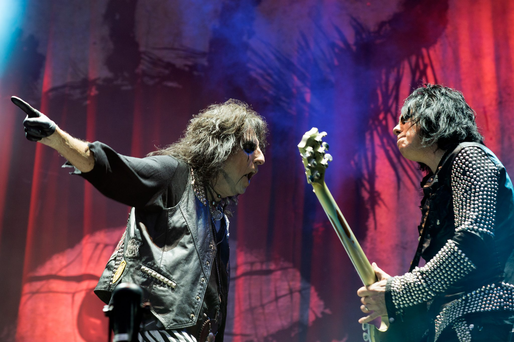 Alice Cooper & Tommy Henriksen