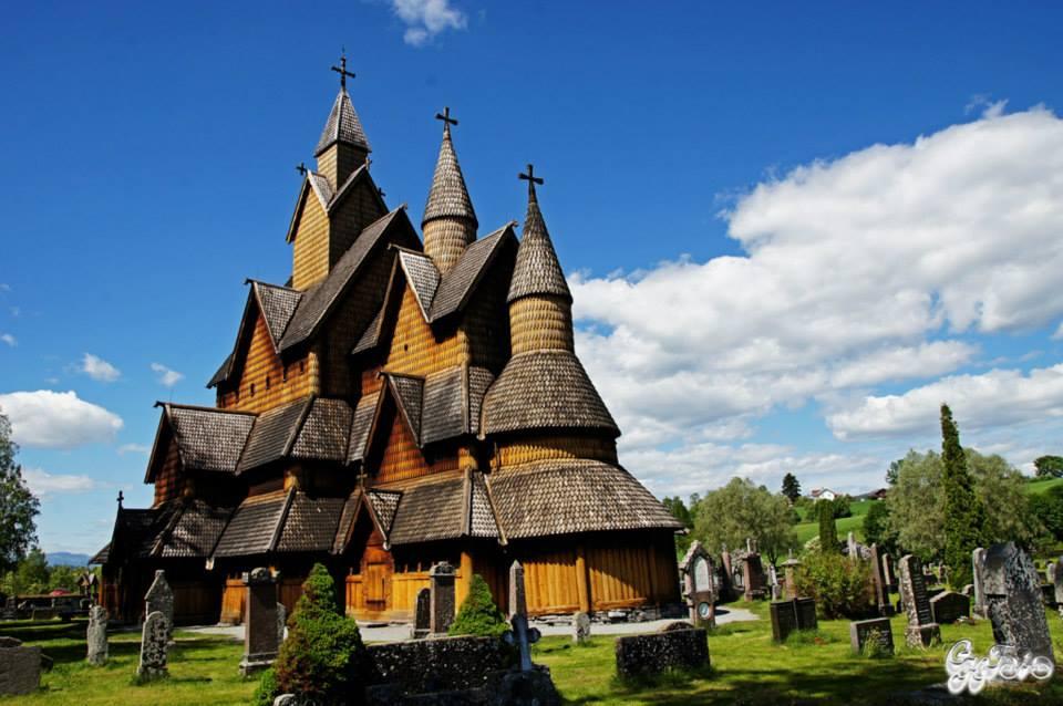 Heddal Stavkirke 1300's