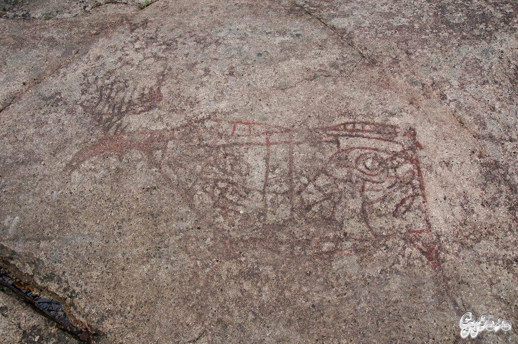 Helleristninger, Drammen approx 4000 B.C