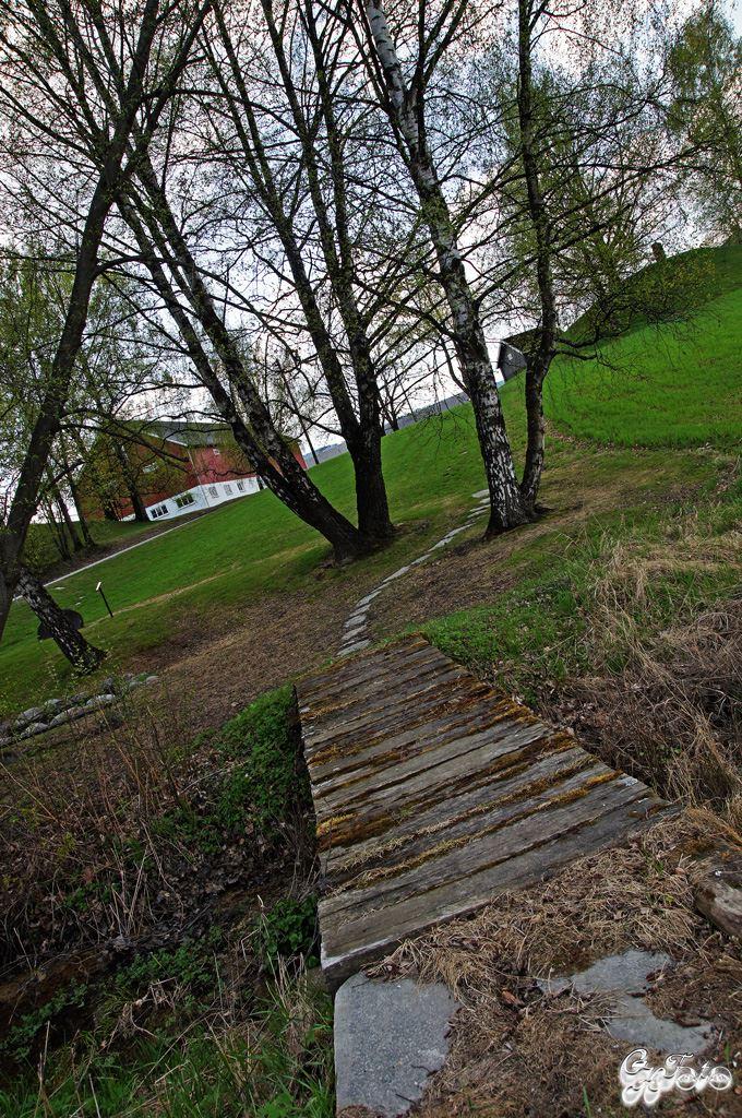 St Hallvard Spring & Burial Mound 1000's