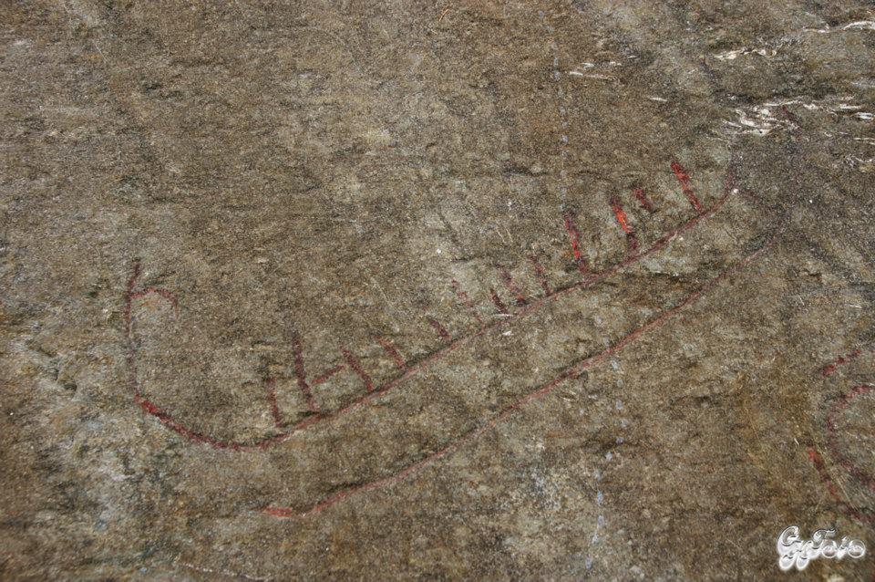 Rudlå Helleristninger, Stavanger approx 1000 B.C