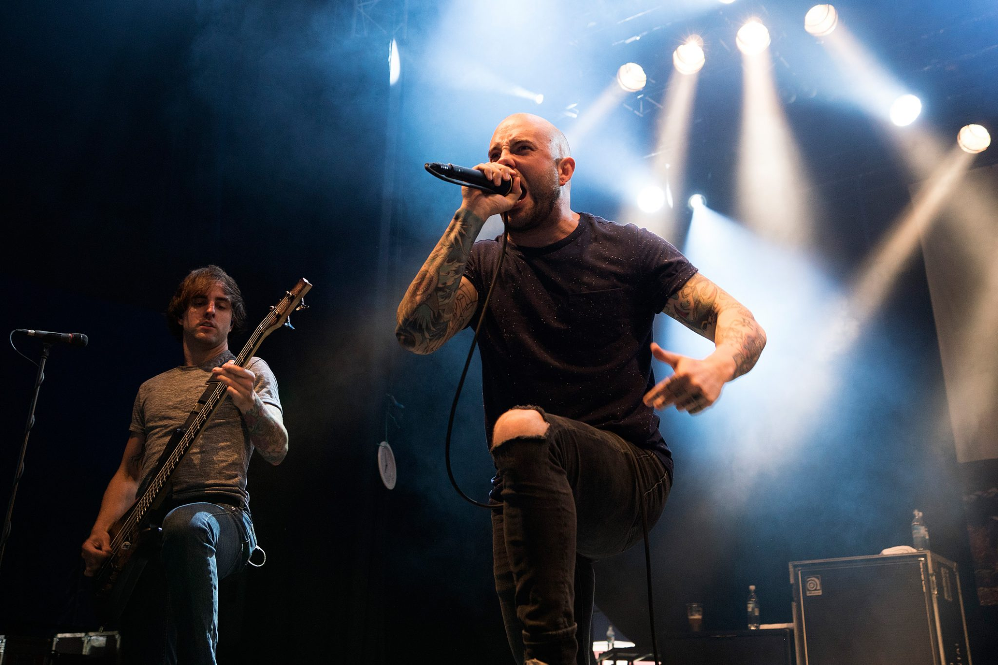 Dustin Davidson & Jake Luhrs, August Burns Red
