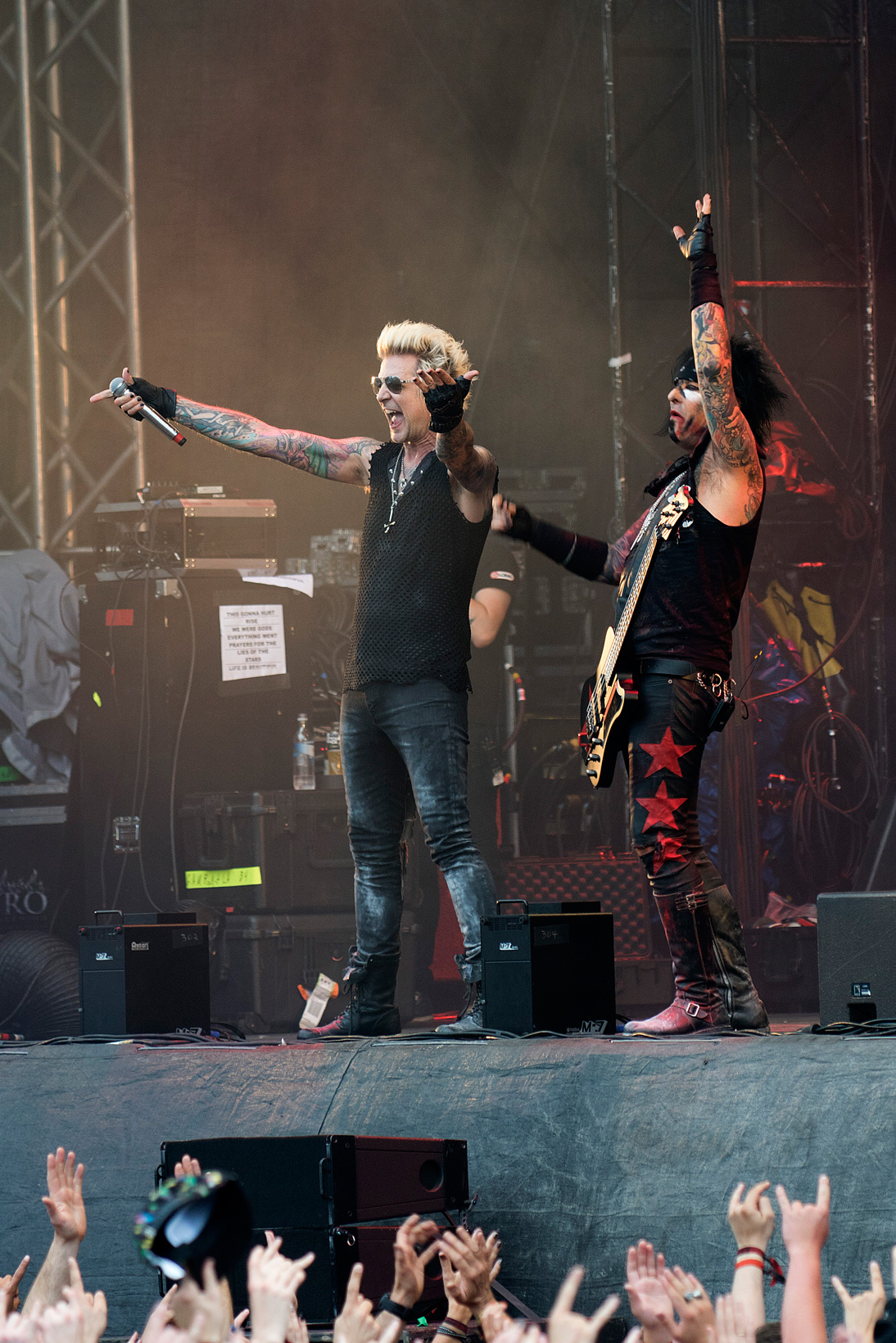 Michael James & Nikki Sixx, Sixx:A.M.